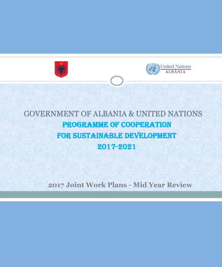 Mid Year Review of the GoA-UN Programme of Cooperation for Sustainable Development - 2018