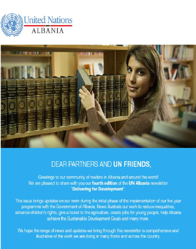 Delivering for development in Albania (fourth edition)
