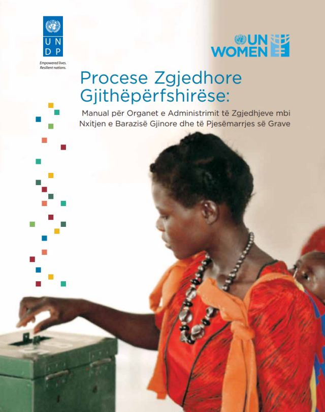 Comprehensive Electoral Processes: A Handbook for Election Administration Bodies on Promoting Gender Equality and Women's Participation