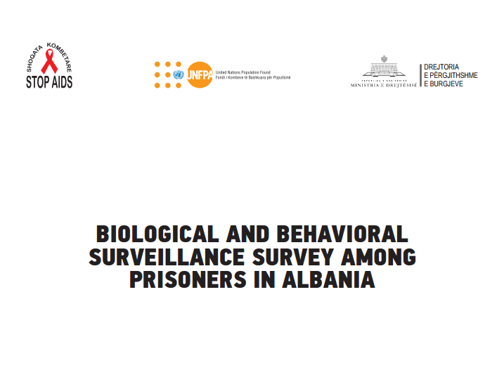 Biological and behavioral surveillance survey among prisoners in Albania