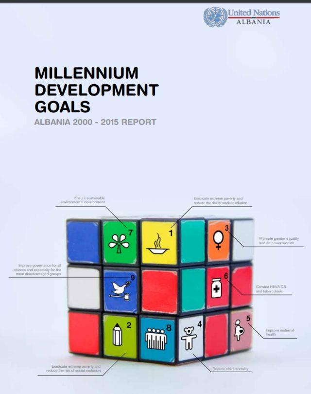 Millennium Development Goals Albania 2000 - 2015 Report