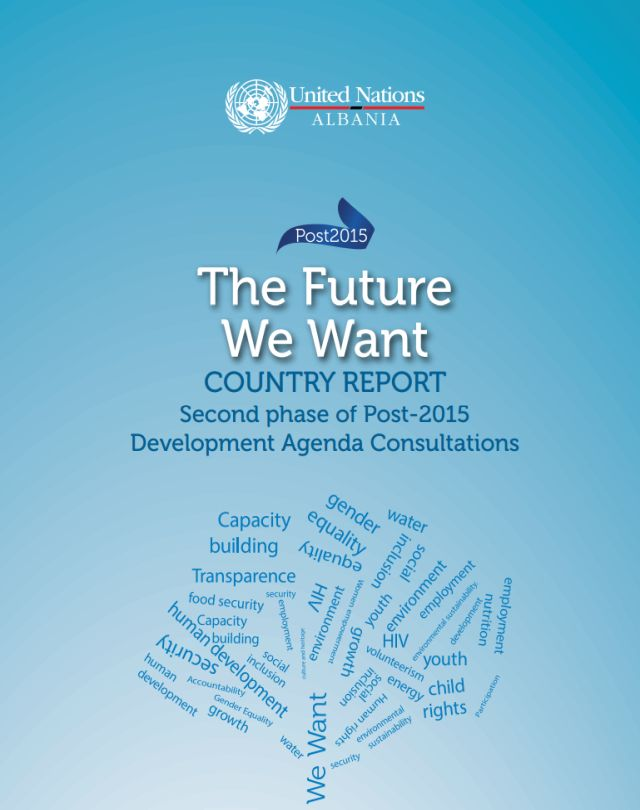 The Future We Want - Country Report 2015