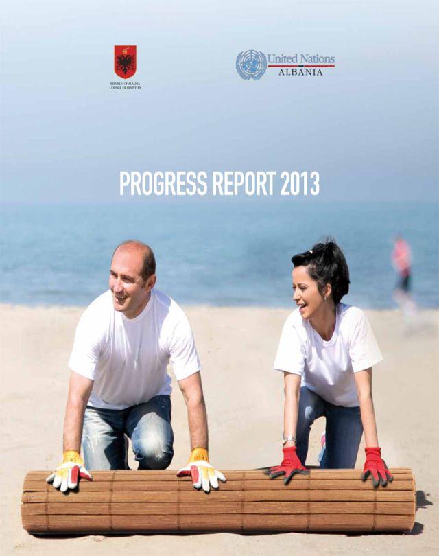 UN Annual Progress Report 2013