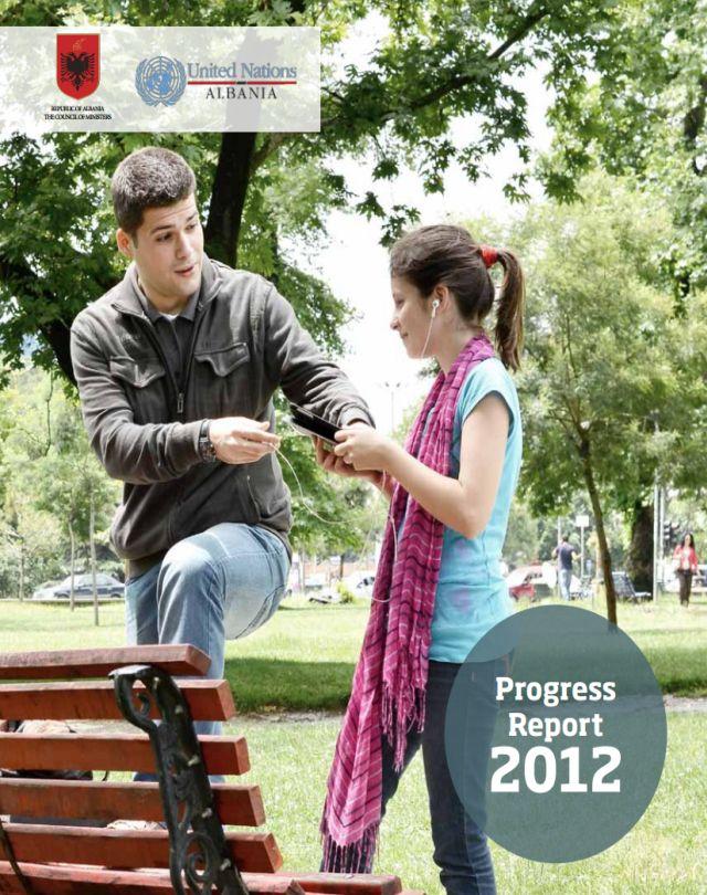 UN Annual Progress Report 2012