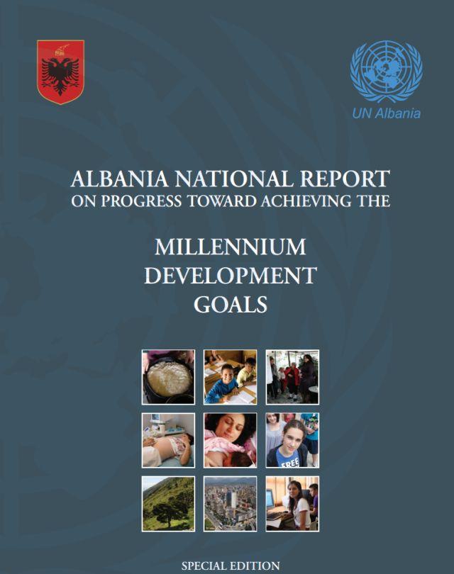 Millenium Development Goals: Albania National Report on Progress