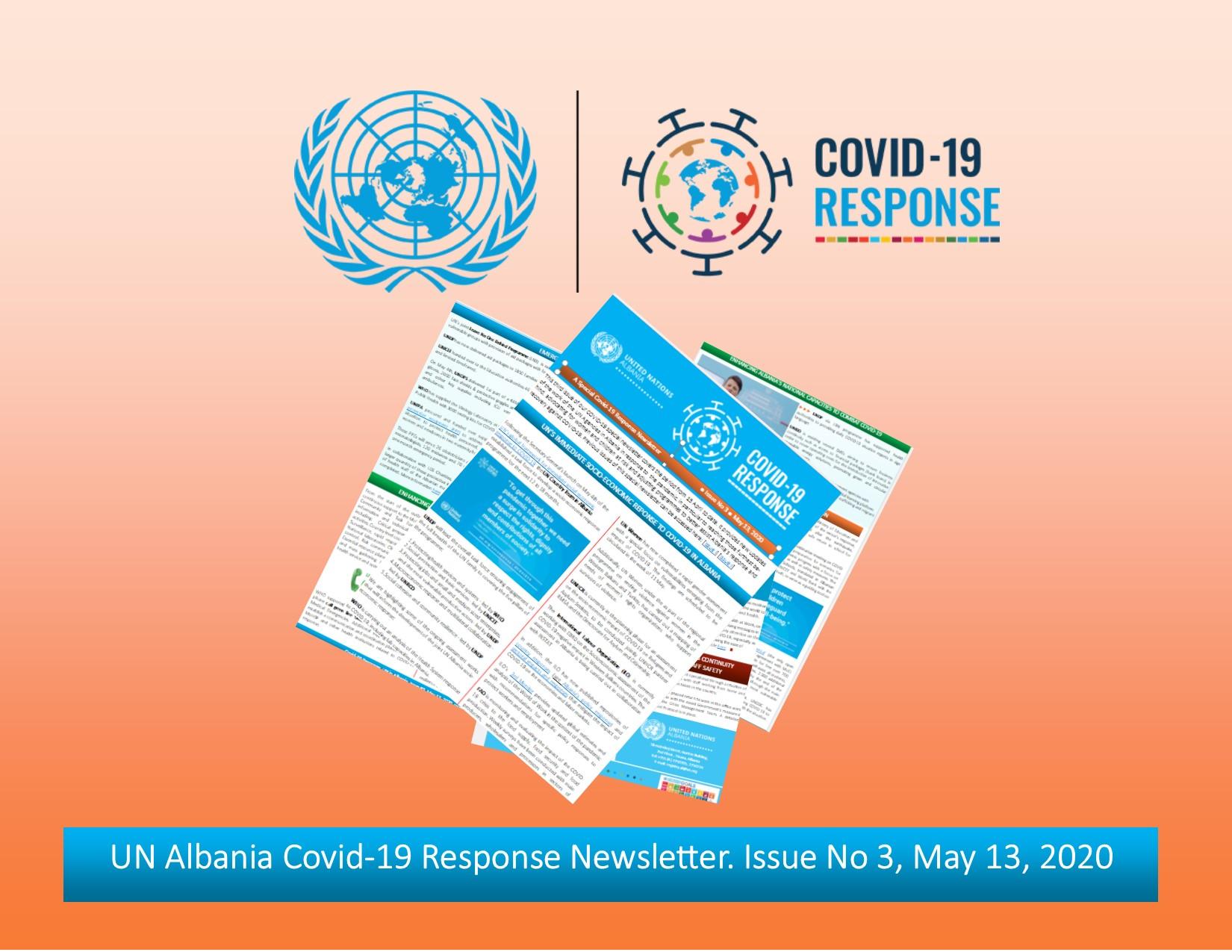 UN Albania Covid-19 Response Newsletter - Issue 3