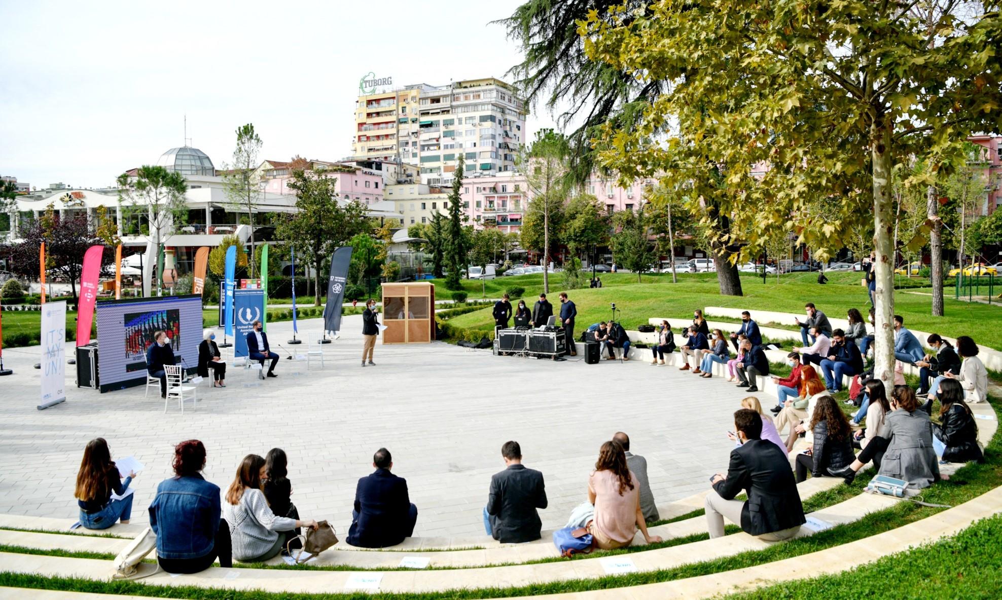 'It's My UN': Commemorating UN's 75th anniversary in Albania