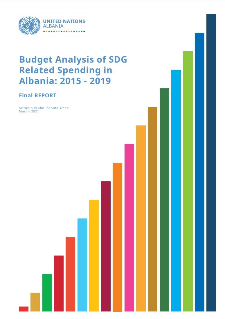 Budget Analysis of SDG  Related Spending in  Albania: 2015 - 2019