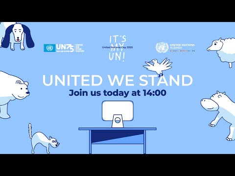 Nations United: Urgent Solutions for Urgent Times with Albanian subtitles with pre-screening messages